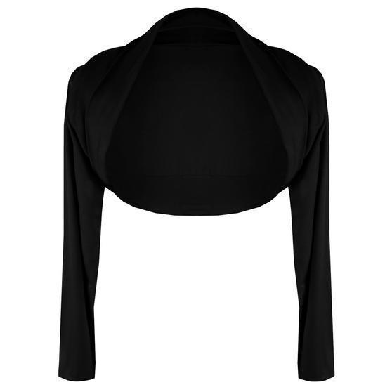 Banned Soft Black Shrug Top