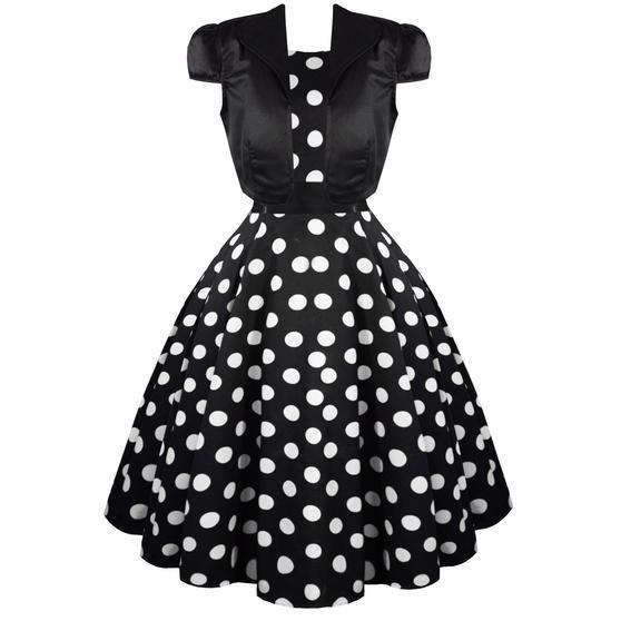 Hearts and Roses London Black Polka Dot Shrug Top