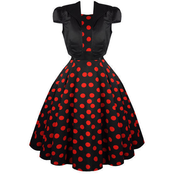 Hearts and Roses London Red Polka Dot Shrug Top