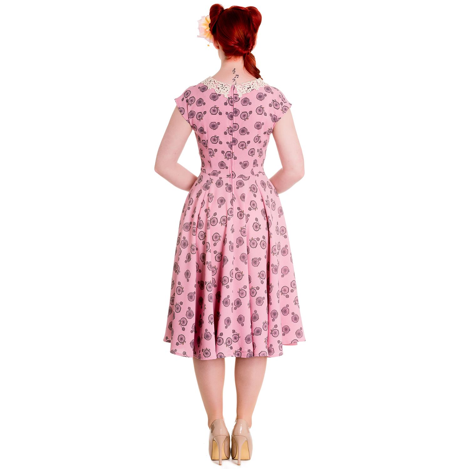Hell Bunny Penny Love 1940s Dress Hell Bunny Starlet