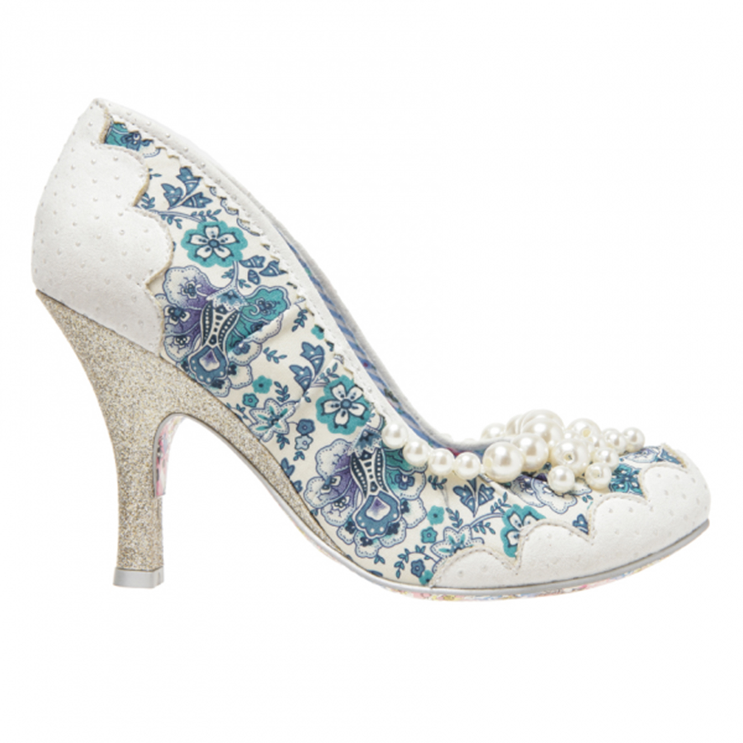 Irregular Choice Pearly Girly Shoes 1950s Shoes