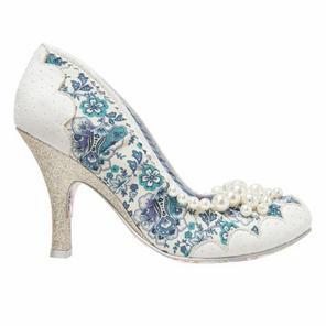 Irregular Choice Pearly Girly Shoes