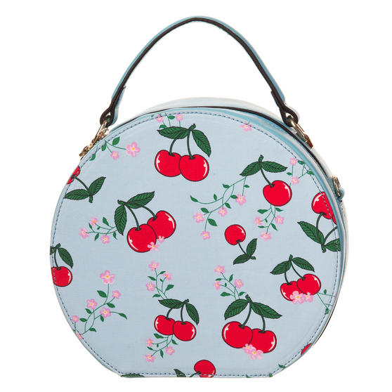 Banned Blue Cherry Handbag