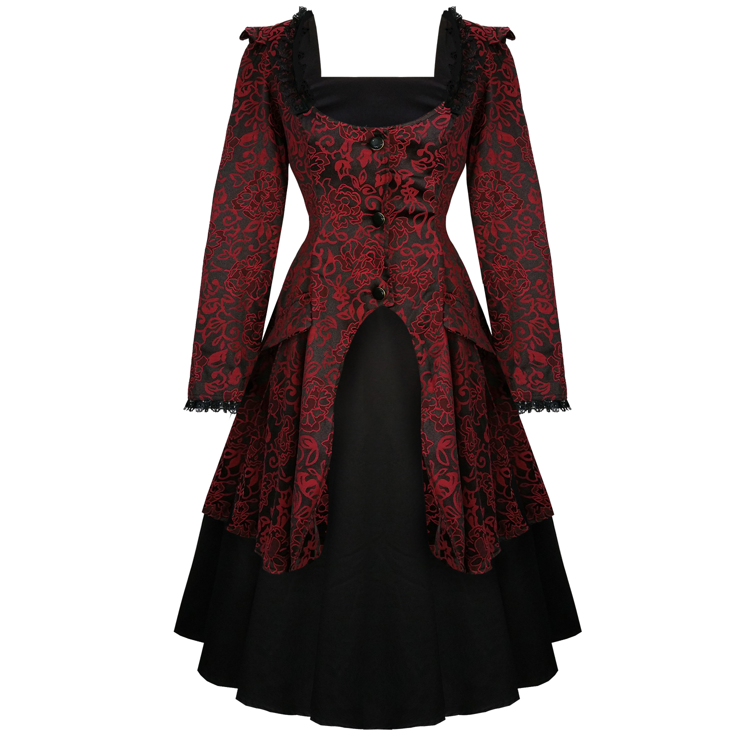 Hearts And Roses London Black 1950s Dress And Jacket