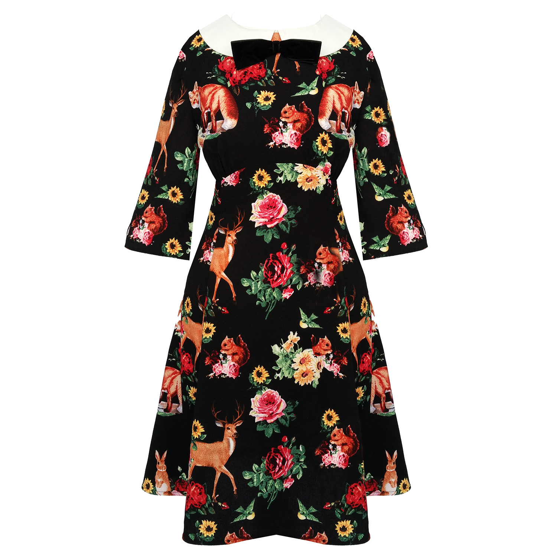 27a2c199f2 Hell Bunny Hermeline 1960s Dress