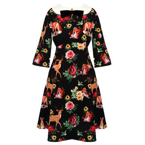Hell Bunny Hermeline 1960s Dress