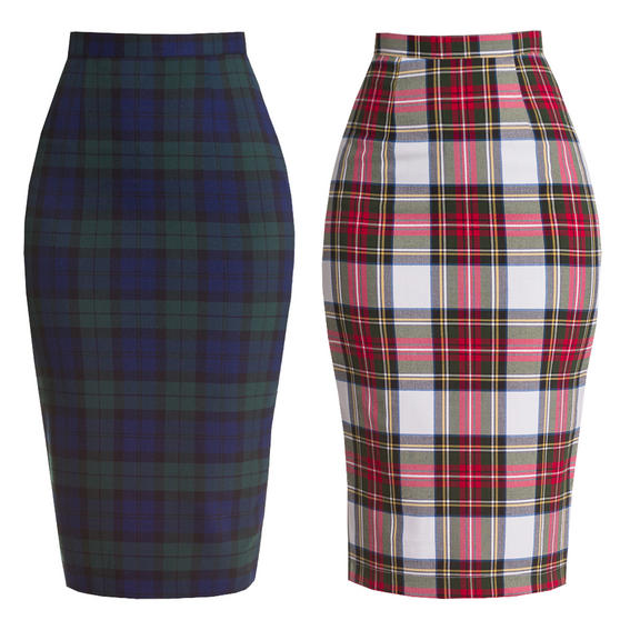 Hell Bunny Jodie Pencil Skirt