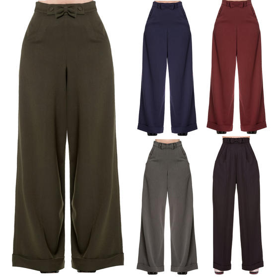 Banned Party On Swing Trousers