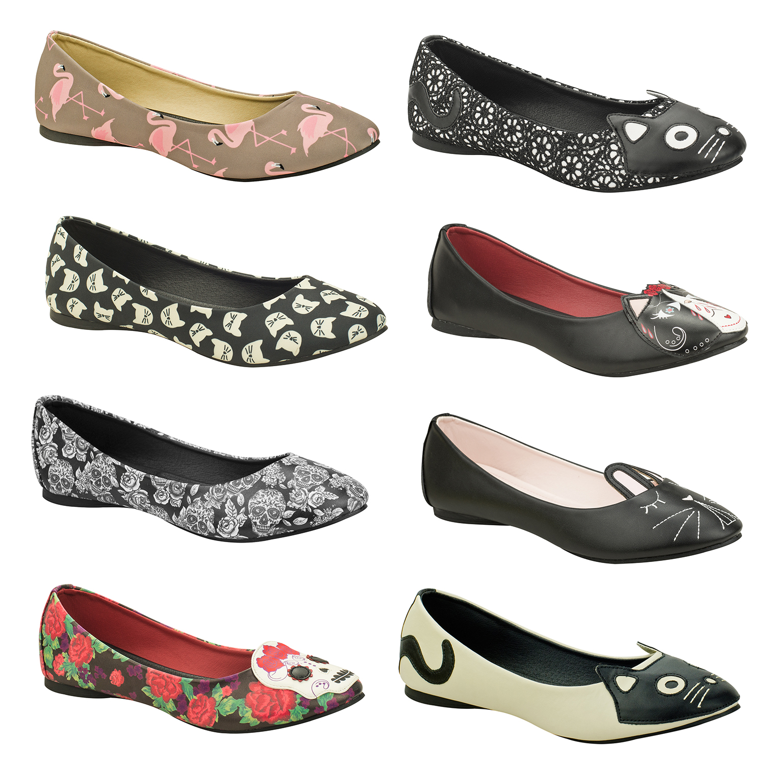 Rockabilly Flat Shoes Uk
