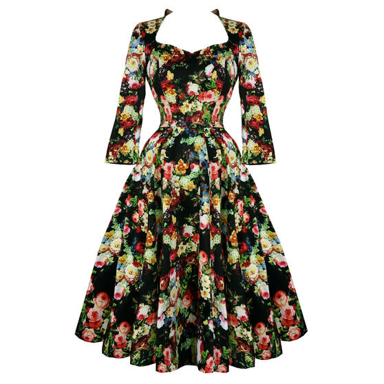 Hearts and Roses London Antique Rose Dress