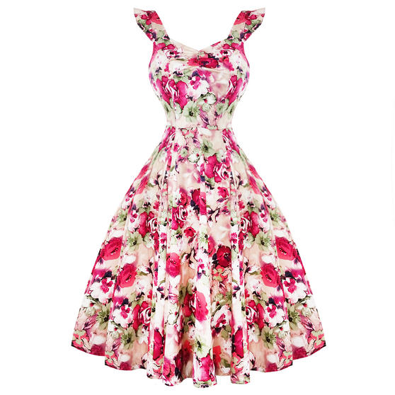 Hearts and Roses London Pink Champagne Dress