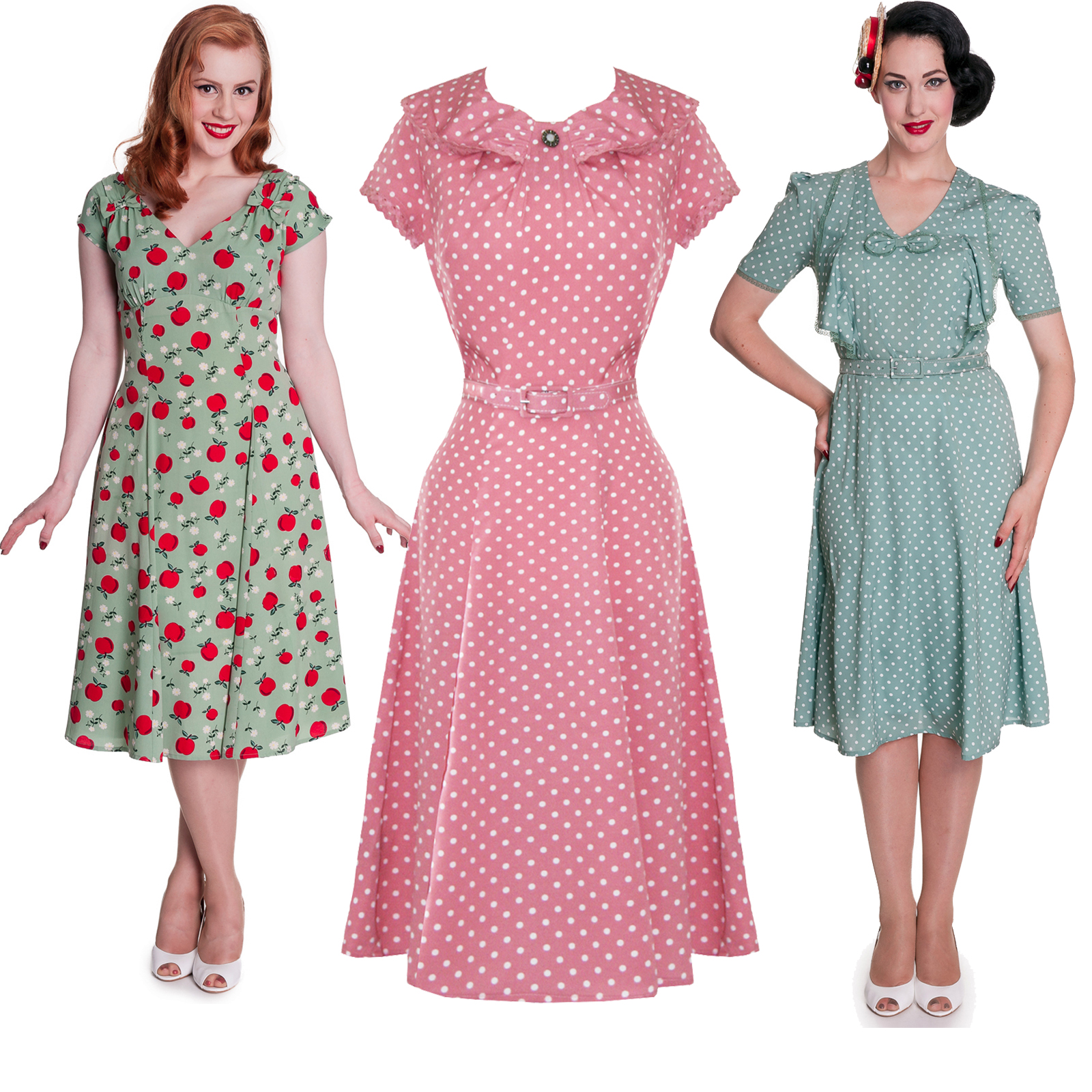 Hell Bunny 1940s Dress 1940s Dresses Starlet Vintage