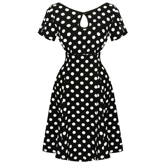 Banned Dancing Days Polka Dot 1950s Dress
