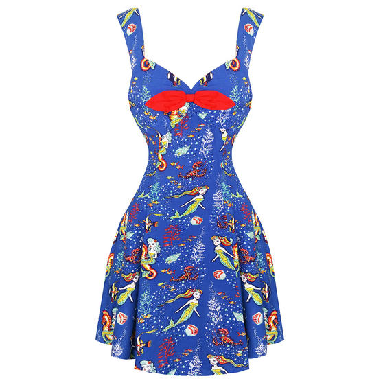 Dancing Days Mermaid Mini 1950s Dress
