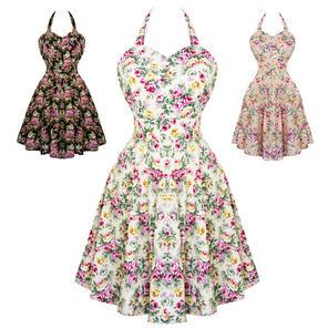 Dolly & Dotty Cynthia Floral 1950s Dress