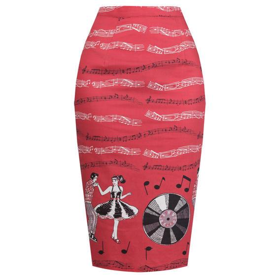 Dancing Days Empower Pencil Skirt