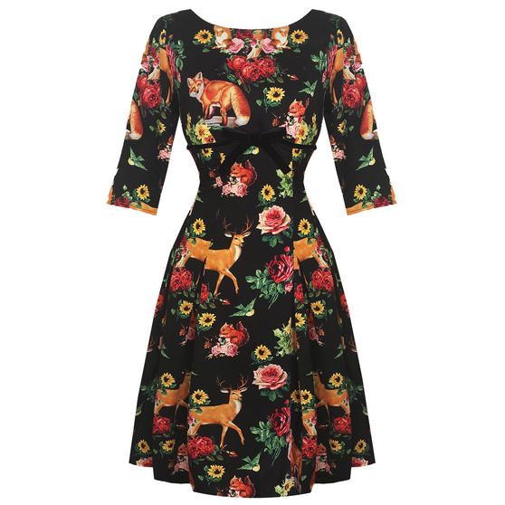 Hell Bunny Hermeline 1950s Dress