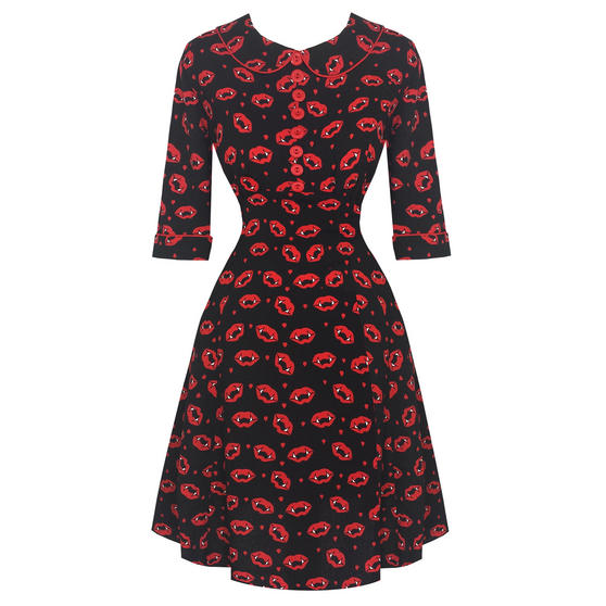 Hell Bunny Kiss Me Deadly Dress