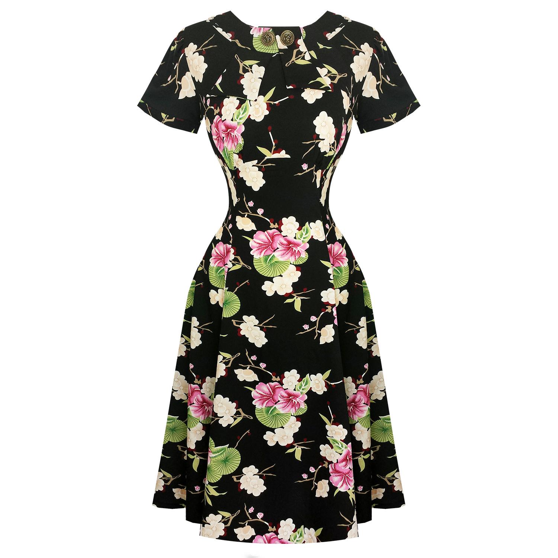 Hell Bunny Freya 1940s Dress | Dresses | Starlet Vintage