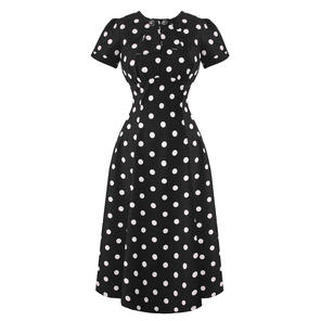 Hell Bunny Madden 1940s Dress