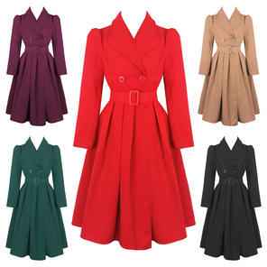 Hearts and Roses London Swing Coat