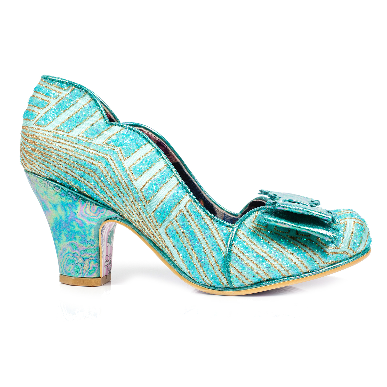 80685235fad14 Irregular Choice Disco Dreams Retro Art Deco 1920s Gatsby Flapper Vintage  Shoes Thumbnail 2