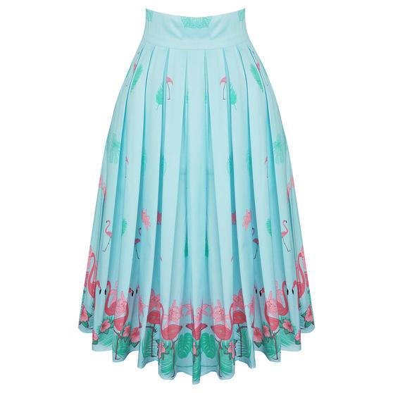 Dancing Days Going My Way Flamingo Skirt