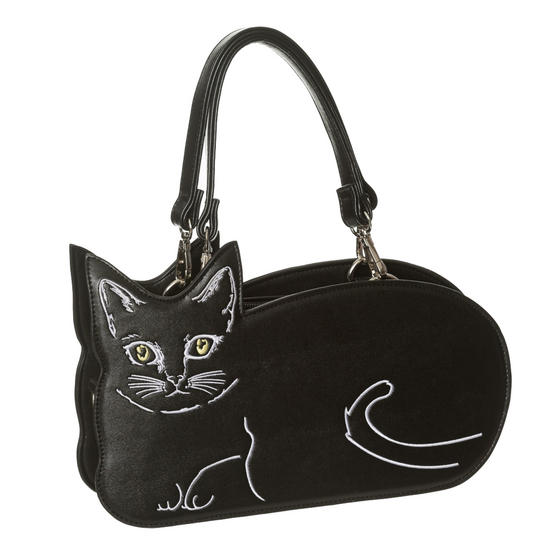 Banned Kitty Cat Small Handbag