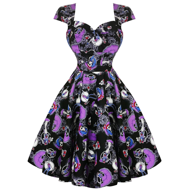 9e8499bdf89ae Hell Bunny Graciela Halloween 1950s Dress | Dresses | Starlet Vintage