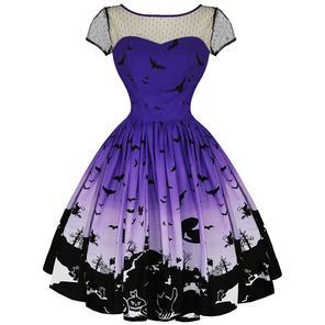 Hell Bunny Haunt Halloween 1950s Dress