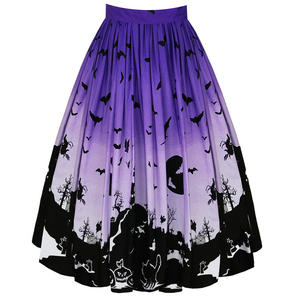 Hell Bunny Haunt Halloween 1950s Skirt