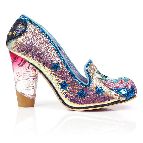Irregular Choice Lady Misty Rose Unicorn Shoes