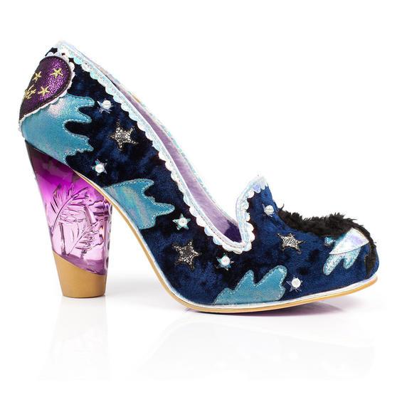 Irregular Choice Stars at Night Cat Shoes