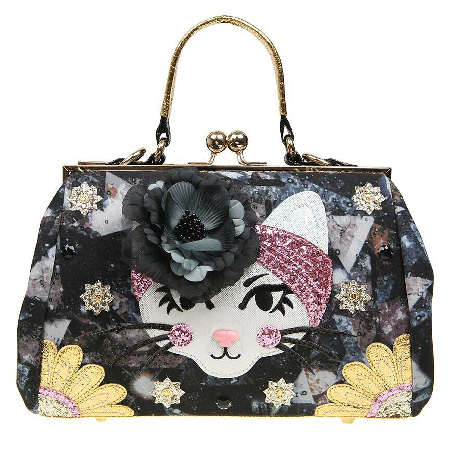 Irregular Choice Purfect Pose Cat Handbag