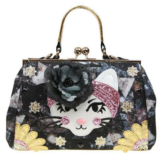 Irregular Choice Purfect Pose Cat Handbag