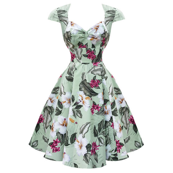 Hell Bunny Kalei 1950s Dress