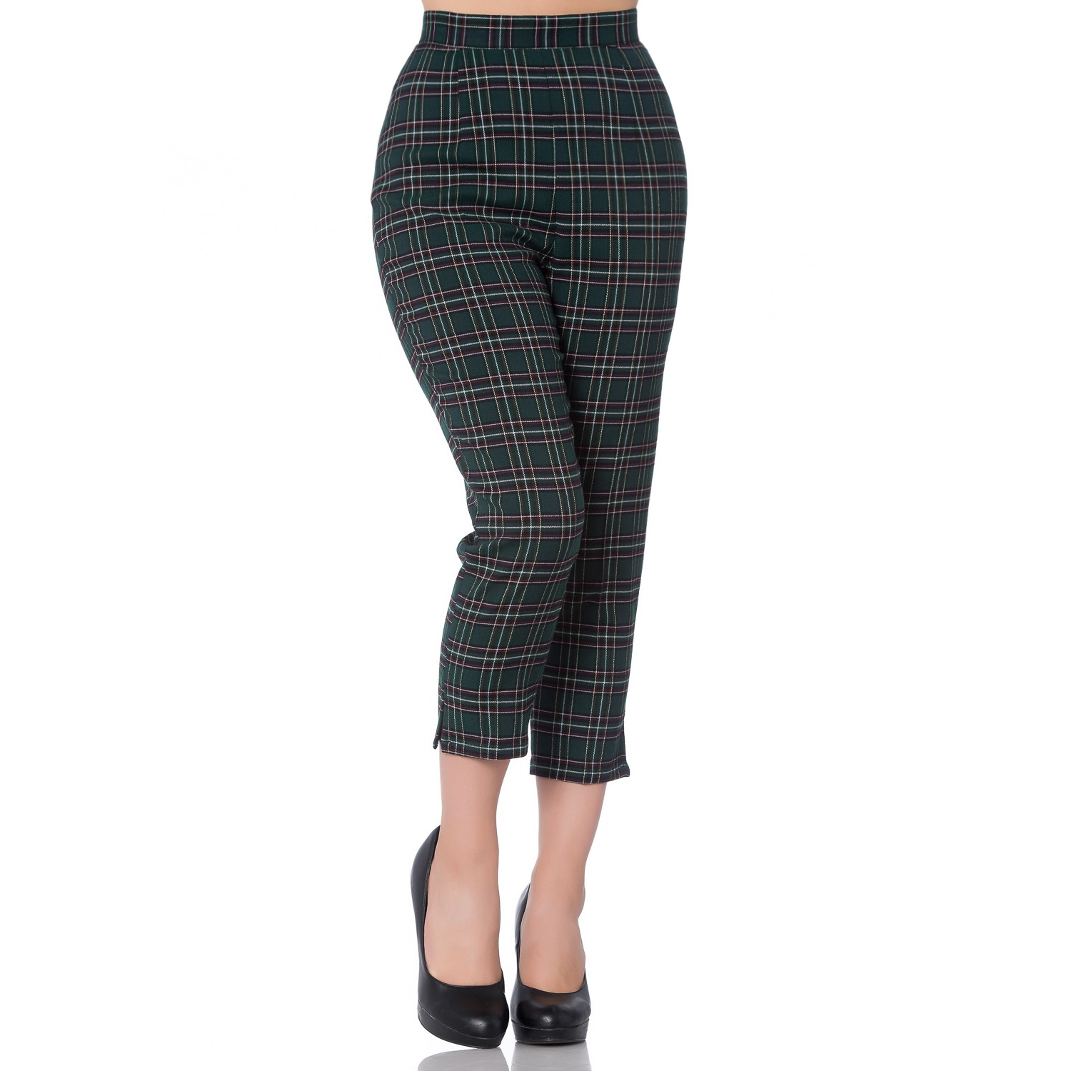 bb1475d87a679 Hell Bunny Pebbles Trousers