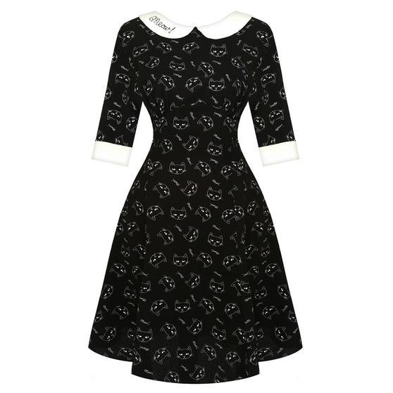 Hell Bunny Matou Cat Dress