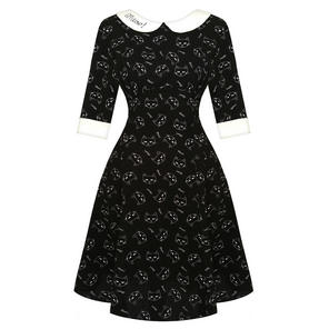Hell Bunny Matou Cat Dress