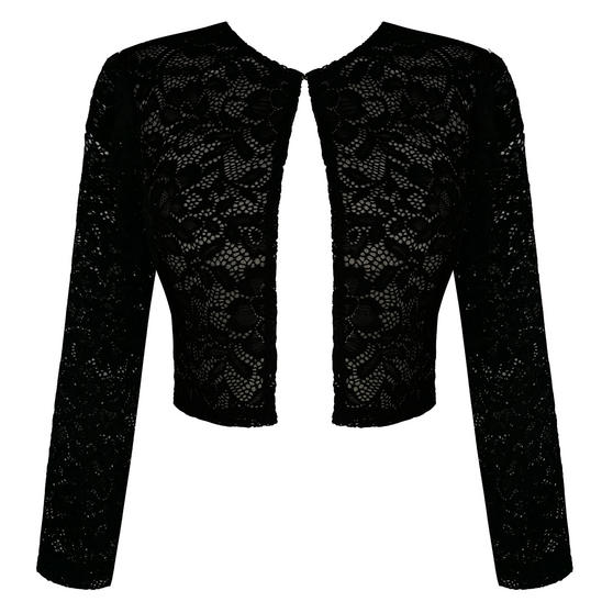 Dancing Days Black Lace Bolero