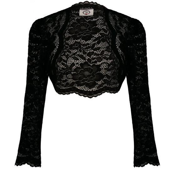 Dancing Days Feel Rosy Open Front Bolero