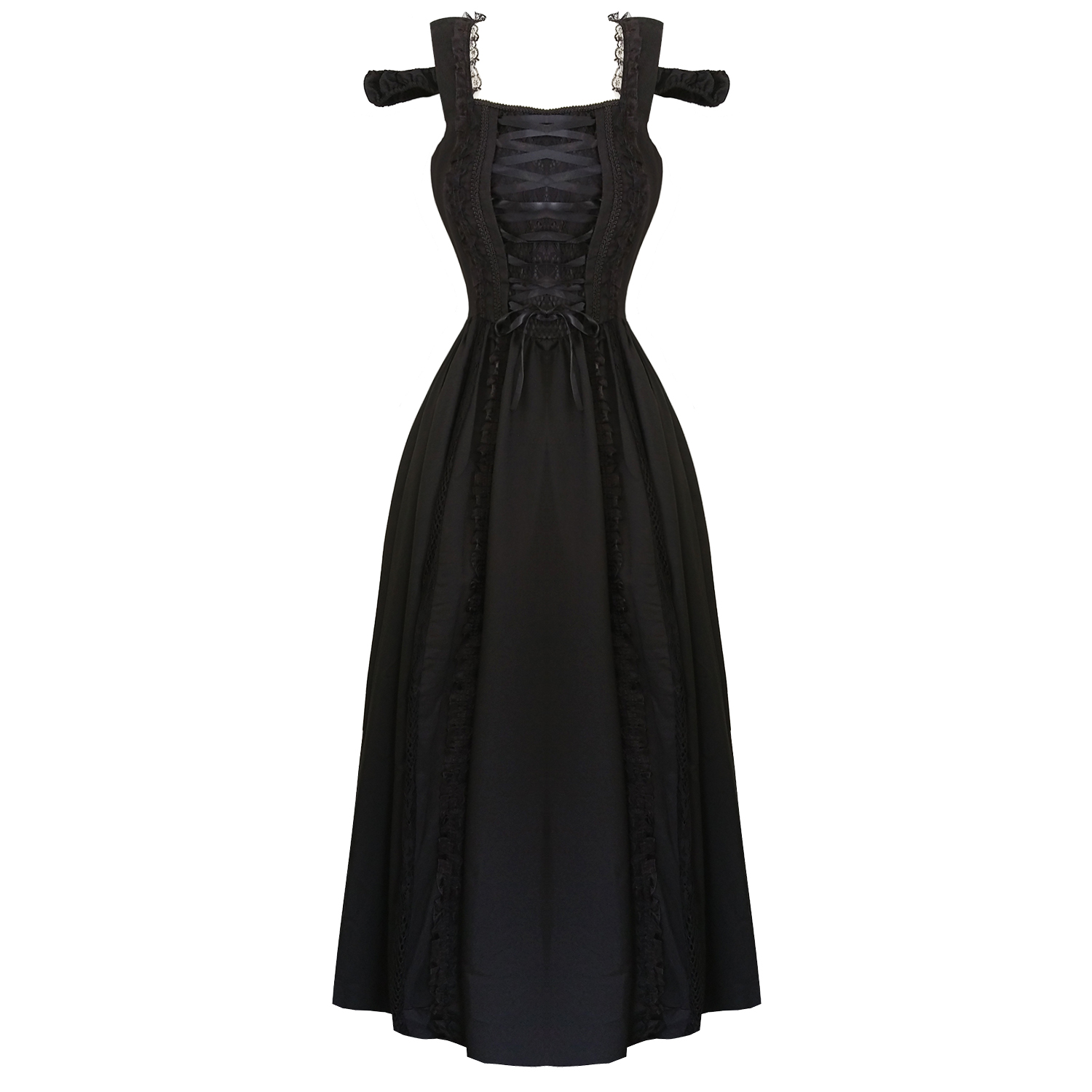 Banned Dancing Days Gothic Ball Gown Dress | Dresses | Starlet Vintage