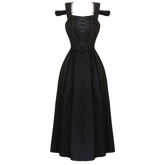 Banned Dancing Days Gothic Ball Gown Dress