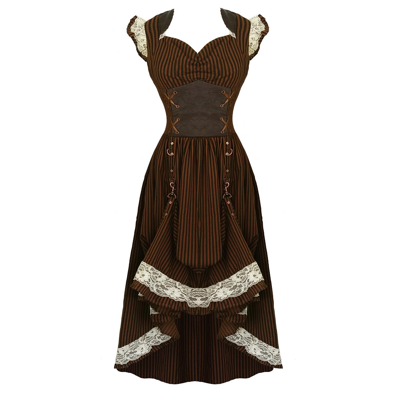 Banned Steampunk Dress | Dresses | Starlet Vintage