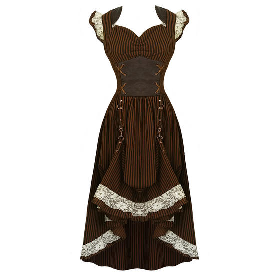 Banned Steampunk Dress
