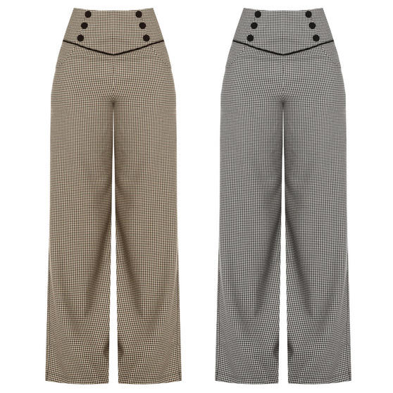 Dancing Days Swept Off Her Feet Swing Trousers