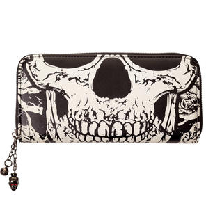 Banned Glow in the Dark Skull Wallet