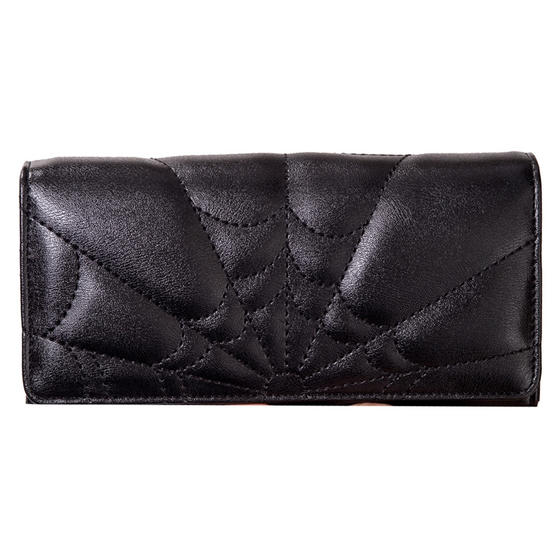 Banned Malice Spider Web Wallet