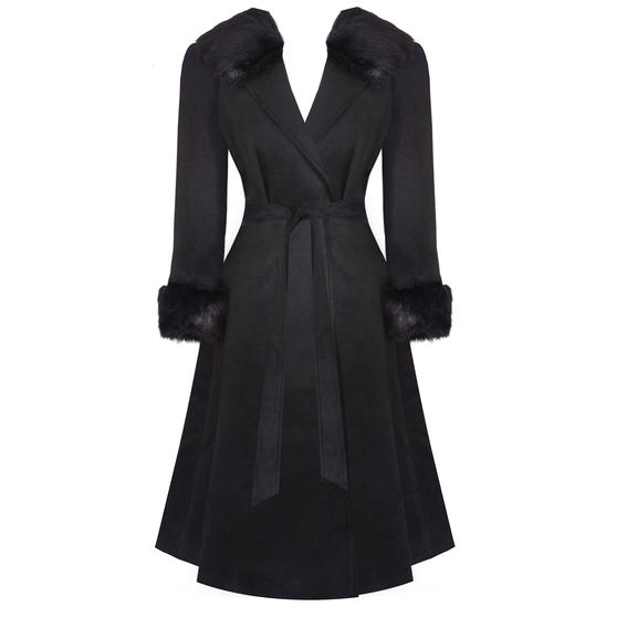 Hearts and Roses London Monroe Coat