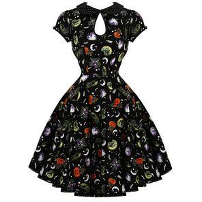 Hell Bunny Salem 1950s Dress